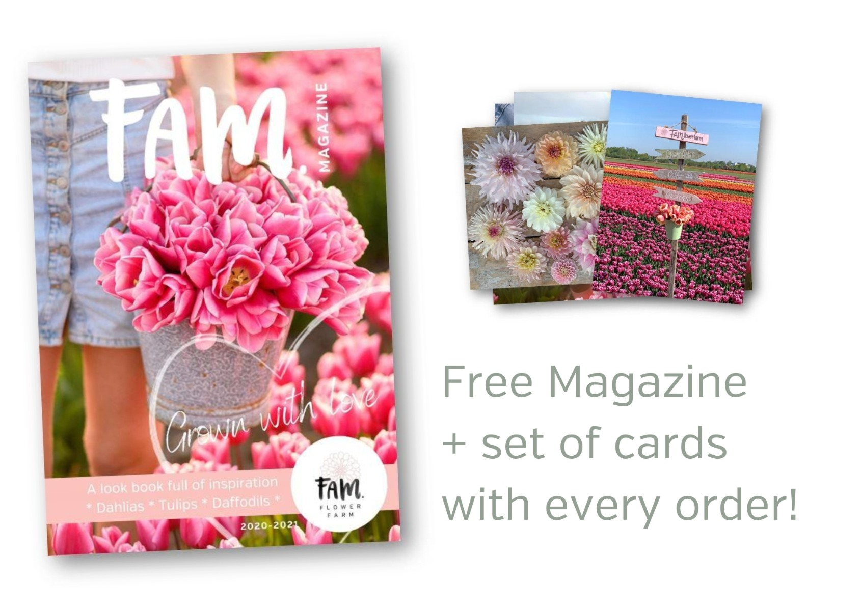 free magazine with every order